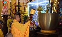 Mengunjungi pagoda Thien An pada musim melakukan pekerjaan yang baik