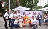 Suasana Pesta Olahraga Asia 2018 - ASIAD 2018 di Ibukota Hanoi