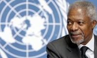 Dunia internasional menyatakan rasa sayang atas Mantan Sekjen PBB Kofi Annan