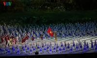 Panorama pembukaan Asian Games 2018: Megah dan berwarna-warni!
