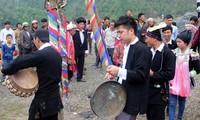 Upacara Tu Cai dari warga etnis minoritas Dao Dau Bang