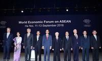 WEF ASEAN 2018및 베트남의 자취