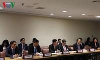 MU PBB angkatan ke-73 : Delegasi Vietnam menghadiri konferensi tak resmi Menlu ASEAN dan Konferensi Menlu ASEAN-PBB
