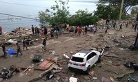 Gempa bumi dan tsunami di Indonesia : Pemerintah Indonesia memberikan 43 juta USD Untuk membantu para korban