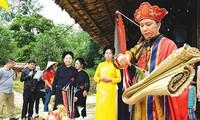 Upacara Cap Sac dari warga etnis minoritas Pa Then di Provinsi Ha Giang