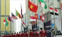Asian Para Games 2018 : Upacara bendera dari kontingen olahraga kaum difabel Vietnam