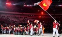Suasana Pembukaan Asian Para Games 2018