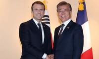 Perancis dan Republik Korea sepakat memperkuat hubungan