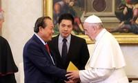 Memperkuat kerjasama antara Vietnam dan Takhta Suci Vatikan