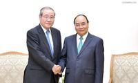 PM Vietnam, Nguyen Xuan Phuc menerima Presiden Grup Keuangan Sumitomo Mitsui