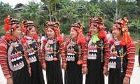 Hari Raya Tet tradisional dari warga etnis minoritas Ha Nhi