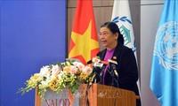 Konferensi MN Vietnam  dan Target-Target Perkembangan yang bekesinambungan berakhir