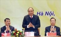 PM Vietnam, Nguyen Xuan Phuc  menghadiri Konferensi penggelaran tugas tahun 2019 dari Kementerian Informasi dan Komunikasi