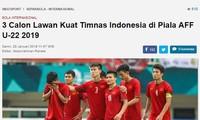 Piala U-22 Asia Tenggara: U22 Vietnam lolos  babak semi final sebagai  juara Grup A
