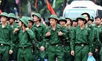 Pelaksanaan wajib militer dikalangan pemuda Vietnam