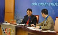 """Dialog online dengan tema """"Pemuda relawan demi komunitas"""""""