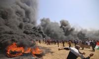 Bentrokan antara Israel dan para militan di Jalur Gaza berlanmgsung tanpa memperdulikan permufakatan gencatan senjata