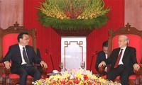 Party, State, National Assembly leaders receive Chinese Premier