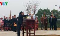 President attends spring festival of ethnic groups