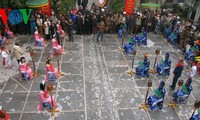 Human chess, traditional game of spring festivals