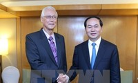 President Tran Dai Quang concludes State visit to Singapore
