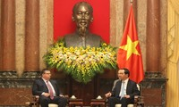 President Tran Dai Quang receives Bulgarian Chief Prosecutor