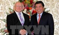 Ho Chi Minh City leader receives Irish President