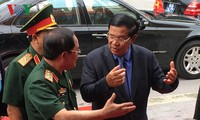 Prime Minister Hun Sen visited relic site in Dong Nai