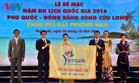 """National Tourism Year 2016: """"Phu Quoc - Mekong River Delta"""" closes"""