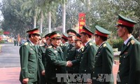 Minister of Defense pays Tet visit to Brigade 205