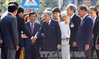 Japanese royal couple impressed with Hue people's hospitality