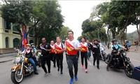 Vietnam hosts relay run ahead of Sea Games 29 and Para Games 9