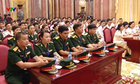 Prominent Trade Union members of the armed forces honored