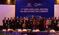 APEC meeting on health and economy