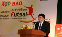 VOV President attends press briefing on Southeast Asian Futsal Championship