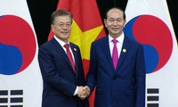 President meets Lao, Cambodian, Republic of Korean leaders