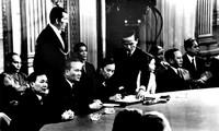 Paris Peace Accords, historic milestone