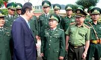 President pays pre-Tet visit to Kon Tum