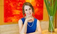 Daria Mishukova, a Russian enthusiast for Vietnamese culture
