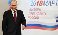 Vladimir Putin reelected President of Russia