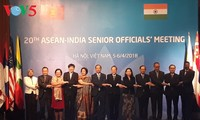 ASEAN, Indian senior officials convene 20th meeting