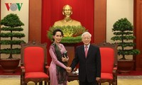 Party leader: Vietnam treasures friendship, cooperation with Myanmar