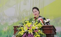 NA Chairwoman works with Vietnam Academy of Science and Technology