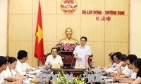 Deputy PM inspects implementation of grassroots democracy