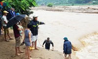 Localities fight torrential rains, floods
