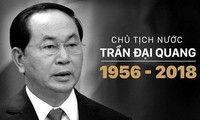 Foreign leaders extend sympathy over passing of President Tran Dai Quang