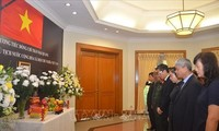Tribute-paying ceremonies for Vietnamese President held in Indonesia