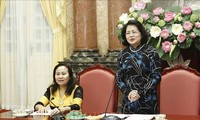 Vice President receives ethnic dignitaries from Ninh Thuan
