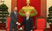 Vietnam considers France its top partner