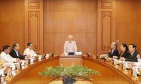 Party leader and President chairs meeting on strategic cadre planning